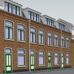 4 dakopbouwen en interne verbouwingen, Utrecht